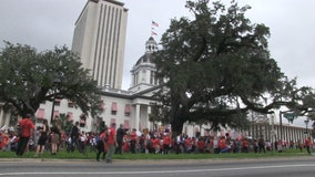 Educators march on Tallahassee, demanding investment in public education
