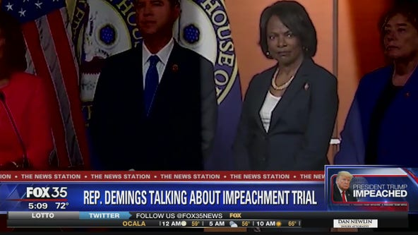 Demings talks about her role as House manager in Trump impeachment