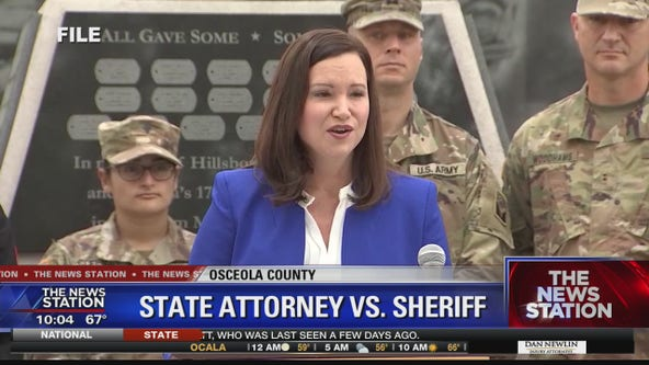 Florida AG inserts herself into dispute between sheriff and state attorney