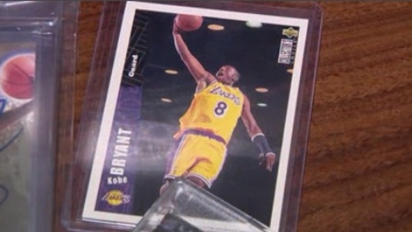Collector tells FOX 35 he's holding on to Kobe Bryant memorabilia