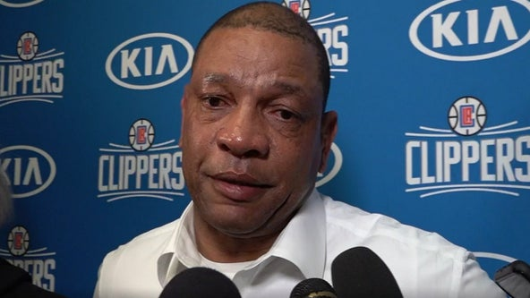Los Angeles Clippers coach Doc Rivers extremely emotional over Kobe Bryant's death