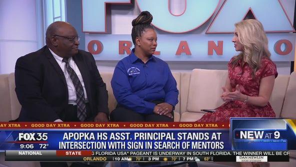 Apopka H.S. principal searches for mentors