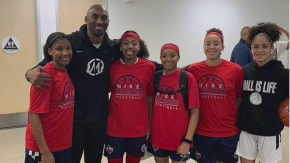 Houston area teens return from Kobe Bryant's weekend tournament, devastated by the news of the legend's death