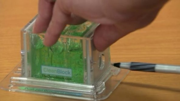 Orlando inventor creates pen sanitizer for hospitals, public places