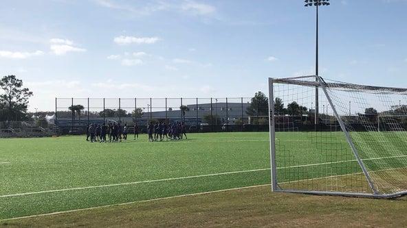 Orlando City Soccer Club cuts ribbon for new training ground at Osceola Heritage Park