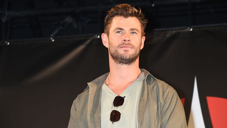 CHIBA, JAPAN - NOVEMBER 23: Chris Hemsworth attends the talk event during the Tokyo Comic Con 2019 at Makuhari Messe on November 23, 2019 in Chiba, Japan. (Photo by Jun Sato/WireImage)