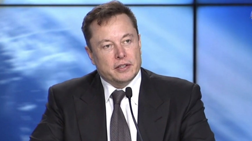 Elon Musk says it is probable that the first crewed launch occurs in the second quarter of 2020