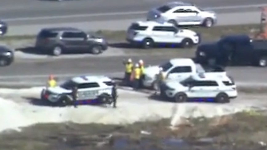 Deputies: Portion of southbound Florida Turnpike closed due to police activity