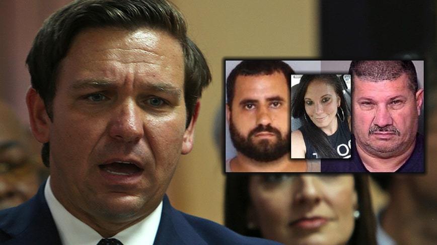 Governor DeSantis comments on the Nicole Montalvo murder