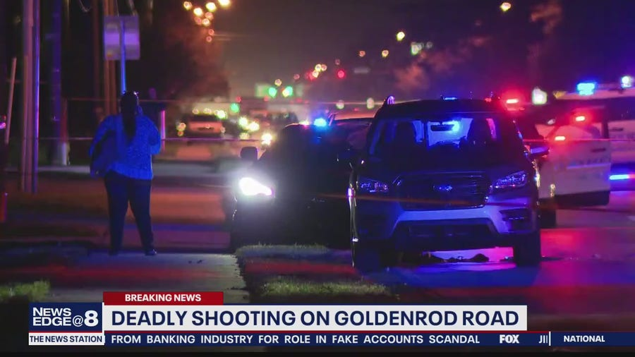 Deadly shooting on Goldenrod Road