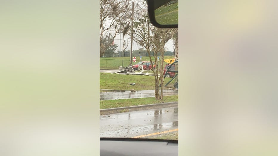 Storm Damage Reported In Volusia Lake Counties Fox 35