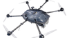 Drone Hunter system being used to capture rogue drones