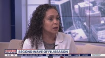 Second wave of flu season