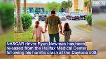 NASCAR driver Ryan Newman released from hospital after fiery Daytona 500 crash