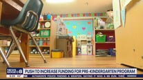 Push to increase funding for pre-kindergarten program