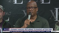 XL 106.7 radio DJ Johnny Magic returns to radio after house fire
