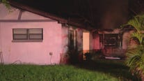 Family rescued from early morning house fire in Apopka