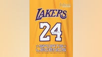 Items that belonged to Kobe Bryant to be auctioned off in Beverly Hills