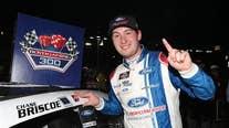 Chase Briscoe wins rain-delayed Xfinity race at Las Vegas