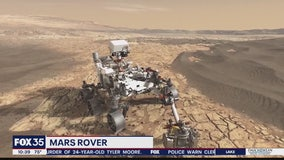 Mars rover arrives at the Kennedy Space Center