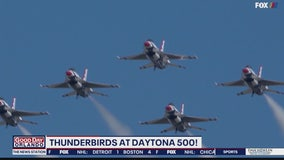 Thunderbirds at Daytona 500