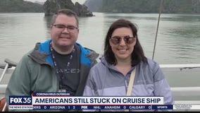 Americans still stuck on cruise ship