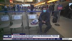 Coronavirus fears impacting businesses, travel