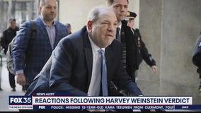 Reactions following Harvey Weinstein verdict