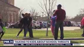Talking to kids about school threats