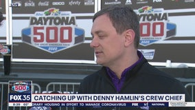 Daytona 500: Catching up with Denny Hamlin's Crew Chief