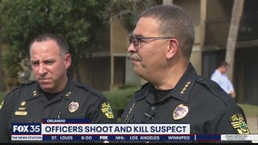 Officers shoot and kill suspect in Orlando
