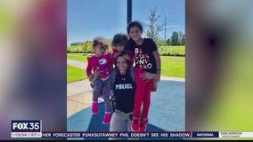 Widow of slain officer seeking joyful life while honoring husband's memory
