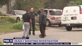 Deputies in Polk County are investigating a shooting