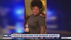 Police searching for murder suspect
