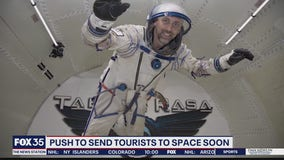 Push to send tourists to space soon