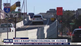 Ramp onto interstate from Colonial Drive set to close for 6 months