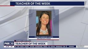 Teacher of the Week: Melanie De La Rosa