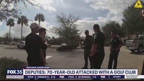 Deputies say elderly man attacked with golf club