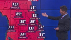 Temperatures rising before a cold front this weekend