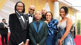 Houston student who caused national movement for refusing to cut dreadlocks walks red carpet at Oscars