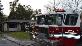 7 people without a home after devastating duplex fire in Ocala, fire rescue says