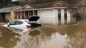 Historic flooding hits Mississippi, Tennessee with more drenching rains expected
