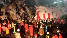 Airliner skids, breaks open in Istanbul; 3 dead, 179 injured