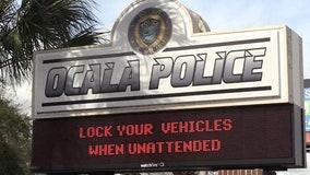 Ocala Police investigating a rash of gun thefts