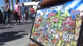 UpTown Art Expo happening all weekend at Cranes Roost Park
