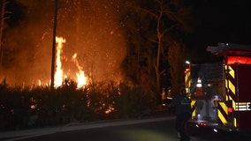 Firefighters find body while battling brush in Palm Coast, department says