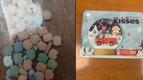 Police issue warning after Hello Kitty-shaped drugs in candy box found on street