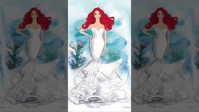 Disney unveils princess-inspired wedding dress line