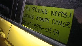 Woman without kidneys getting creative to find a donor