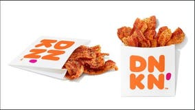 Dunkin' rolls out Snackin' Bacon nationwide